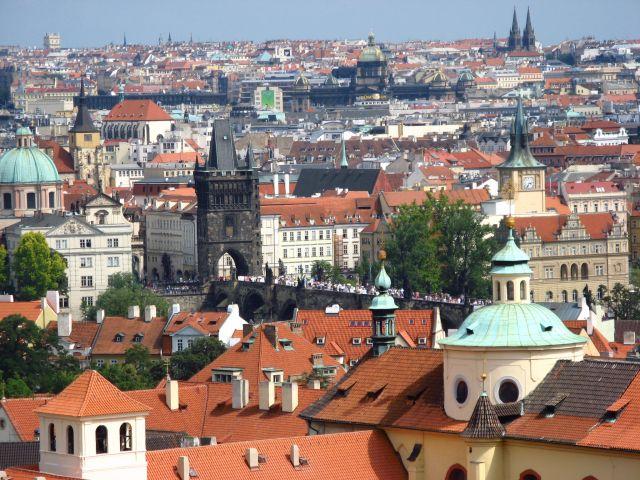 Zdjęcia: Praga, Panorama, CZECHY