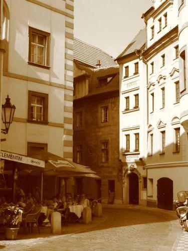Zdjęcia: Praga, Uliczka, CZECHY