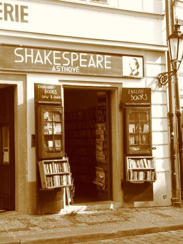Zdjęcia: Praga, Poczytaj Shakespeare'a, CZECHY