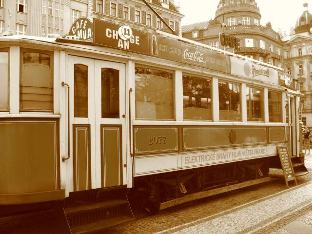 Zdj�cia: Praga, Tramwaj Cafe, CZECHY