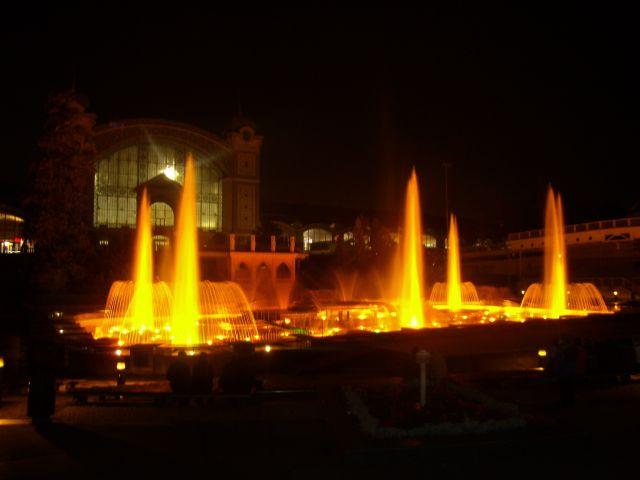Zdjęcia: krizikova fontanna, praga, światlo woda dźwiek, CZECHY