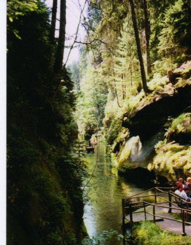 Zdjęcia: Czeska Szwajcaria, Czeska Szwajcaria, Spływ rzeką Kamenica, CZECHY
