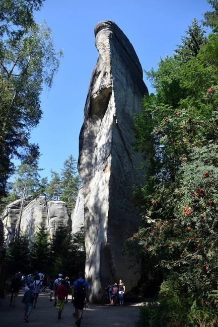 Zdjęcia: Adrszpach, Góry Stołowe, Adrszpaskie Skalne Miasto, CZECHY