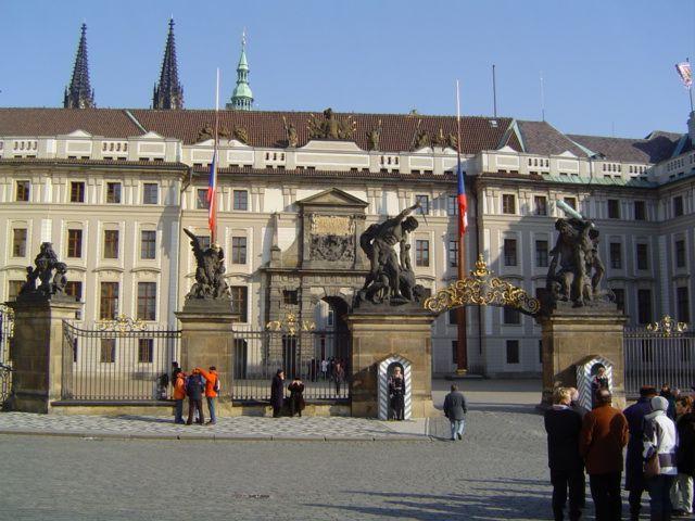 Zdjęcia: Hradczany, Praga, Zamek Królewski, CZECHY