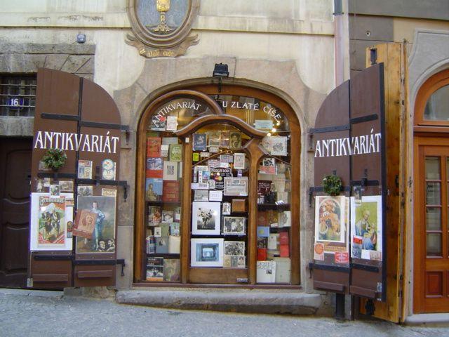 Zdjęcia: Mała Strana, Praga, Antykwariat, CZECHY