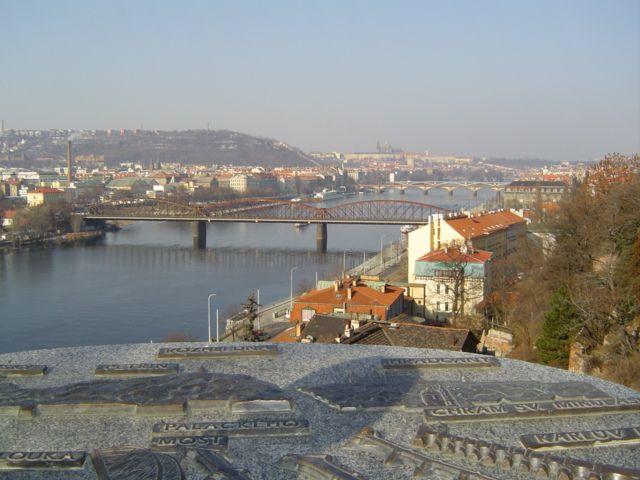 Zdj�cia: Wyszahrad, Praga, Panorama Pragi, CZECHY