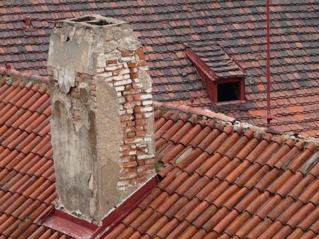 Zdjęcia: Praga, dachy, CZECHY