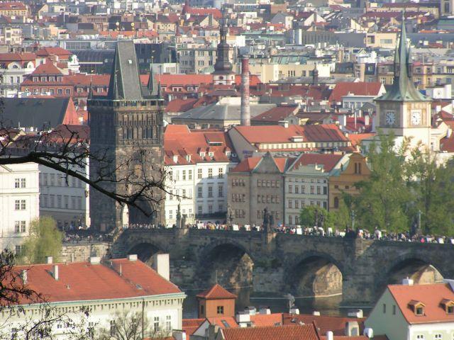 Zdjęcia: Praga, dachy dachy..., CZECHY