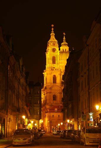 Zdjęcia: Hradczany, Malostranske Namesti, Kościół Św. Mikołaja, Praha4, CZECHY