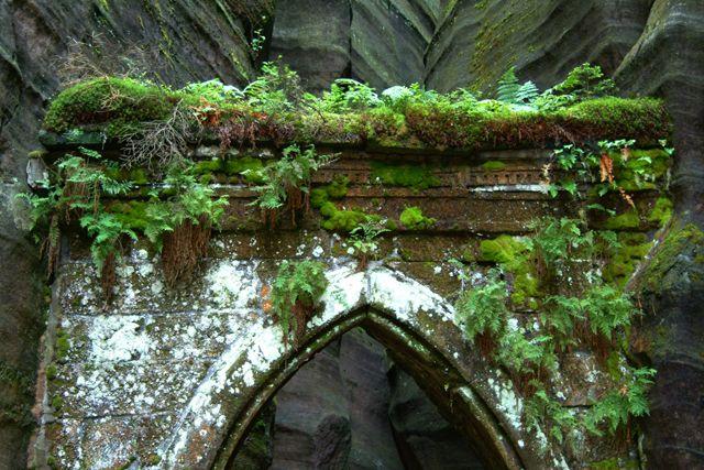 Zdjęcia: Skalni mesto, Teplicke skaly, skalne wrota, CZECHY
