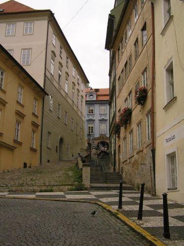 Zdjęcia: Praga, W uliczce, CZECHY