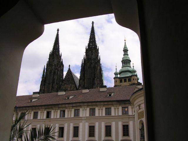 Zdjęcia: Praga, Wieże , CZECHY