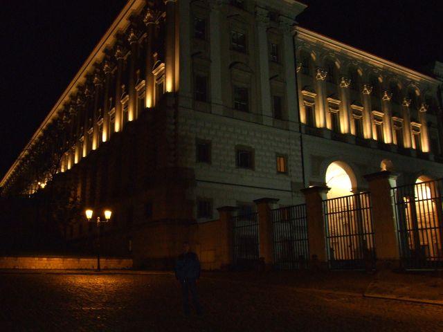 Zdjęcia: Praga, budynek parlamentu nocą, CZECHY