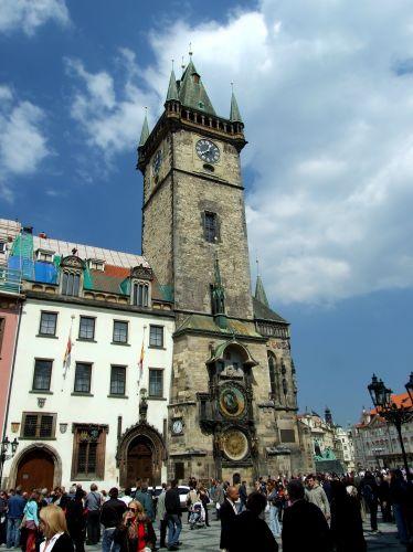 Zdjęcia: Praga, wieża ratuszowa, CZECHY