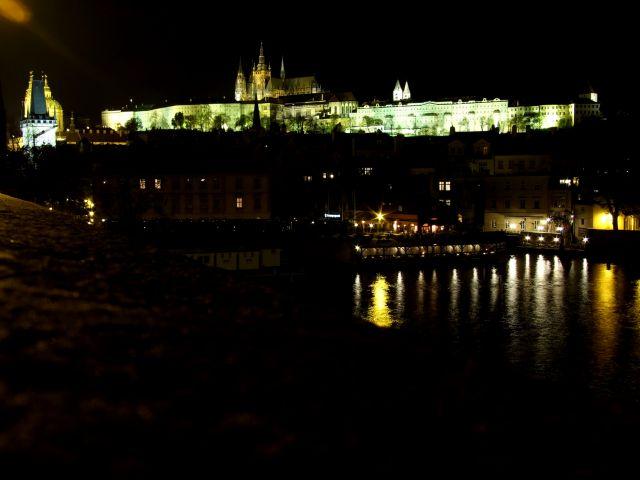 Zdj�cia: Praga, widok na Hradczany, CZECHY