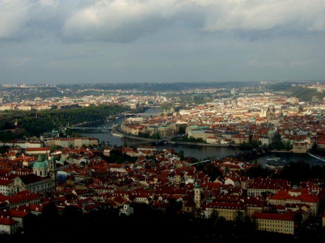 Zdjęcia: Praga, Praga z wieży, CZECHY