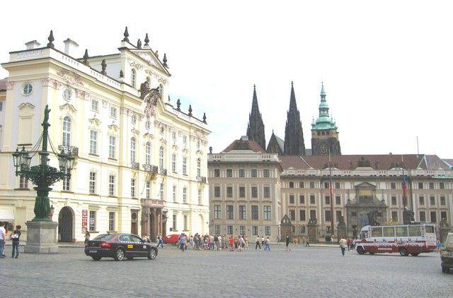 Zdjęcia: Praga, Czechy Środkowe, Hradczany - Plac Zamkowy, CZECHY