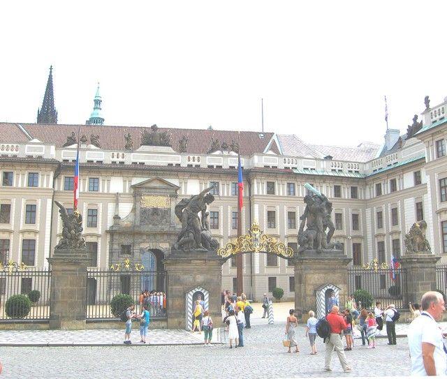 Zdjęcia: Praga, Czechy Środkowe, Zamek Praski na Hradczanach, CZECHY