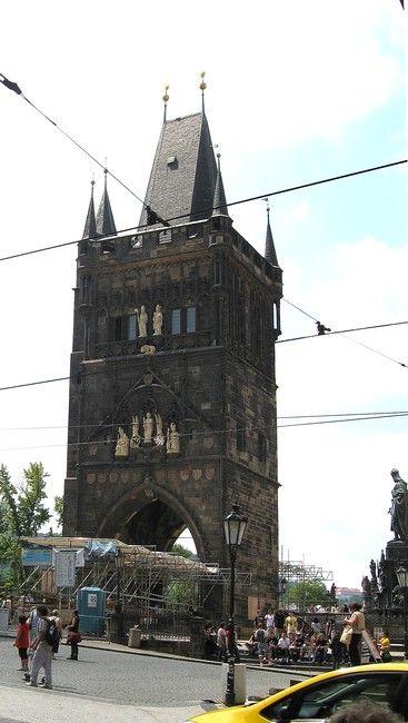 Zdjęcia: Praga, Czechy Środkowe, Wieża Mostowa , CZECHY