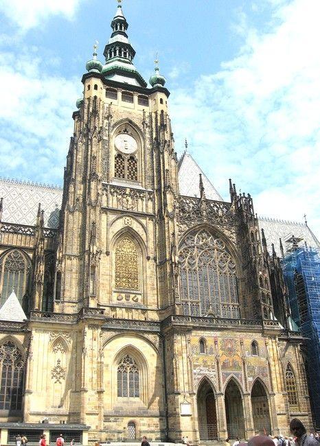 Zdjęcia: Praga, Czechy Środkowe, Fasada Katedry św. Wita, CZECHY