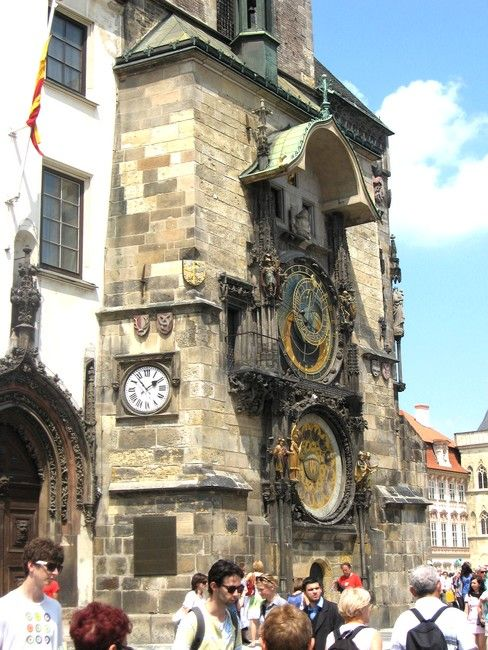 Zdjęcia: Praga, Czechy Środkowe, Zegar Ratusza Staromiejskiego, CZECHY