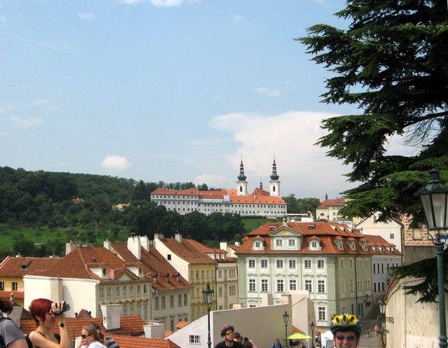 Zdjęcia: Praga, Czechy Środkowe, panorama miasta z hradczańskiego wzgórza, CZECHY