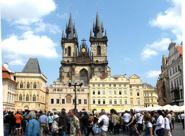 Zdjęcia: Praga, Czechy Środkowe, Kościół NMP przed Tynem, CZECHY