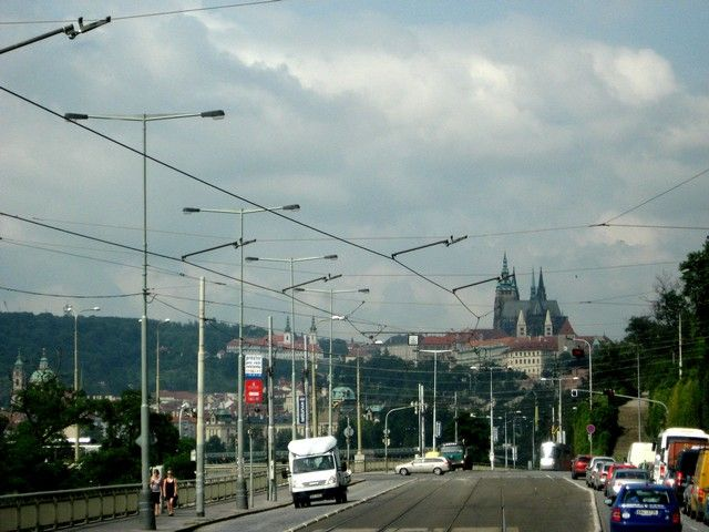 Zdjęcia: Praga, Czechy Środkowe, Praga z autokaru, CZECHY