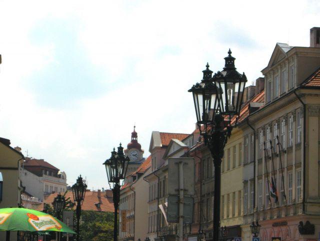 Zdjęcia: Praga, Czechy Środkowe, zaułek z latarniami, CZECHY