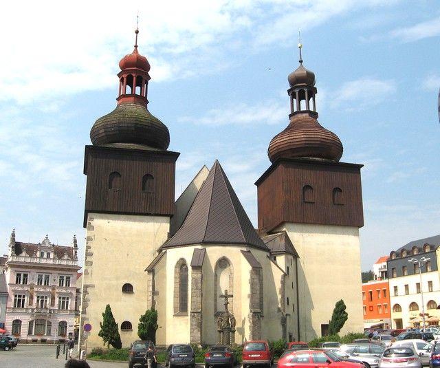 Zdjęcia: Nachod, Hradecki Kraj, Kosciół św Wawrzyńca, CZECHY