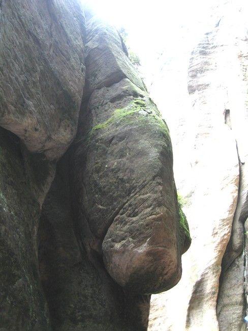 Zdjęcia: Adrspach, Hradecki Kraj, skały maja różne kształty..., CZECHY