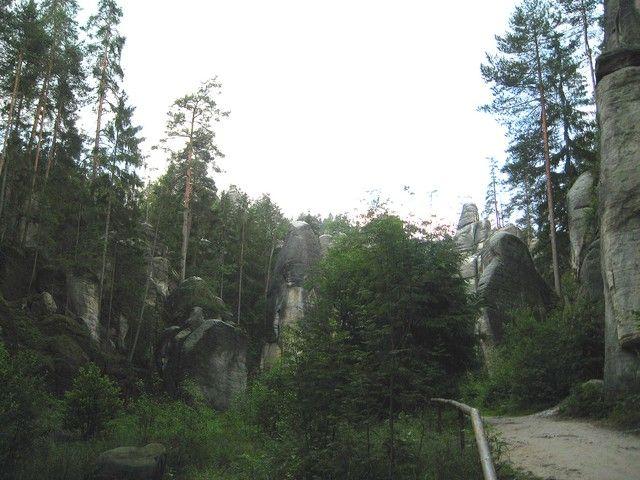 Zdjęcia: Adrspach, Kralowo-Hradecki Kraj, skalny las, CZECHY