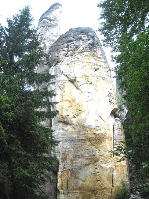 Zdjęcia: Adrspach, kralowo-hradecki kraj, kształty..., CZECHY