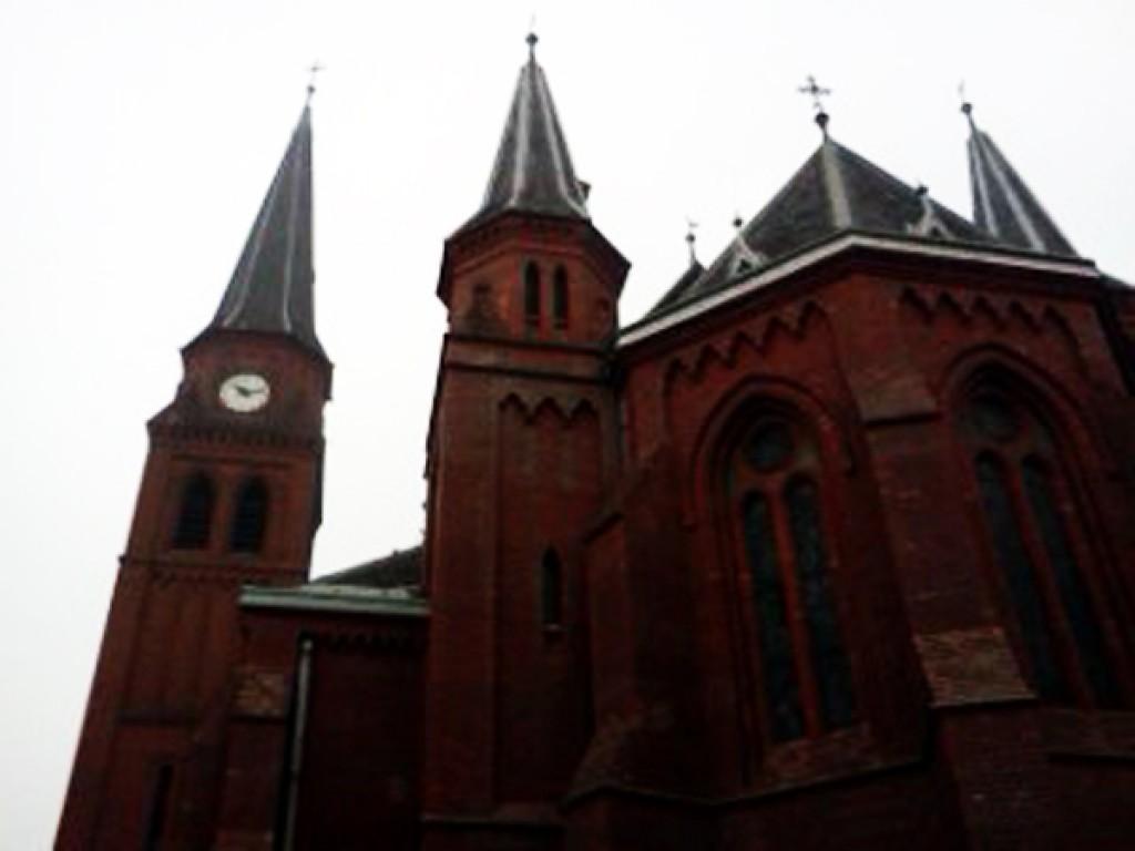 Zdjęcia: Ostrava, Vitkovice, kraj morawsko-śląski, Kosciol sw. Pawła, CZECHY