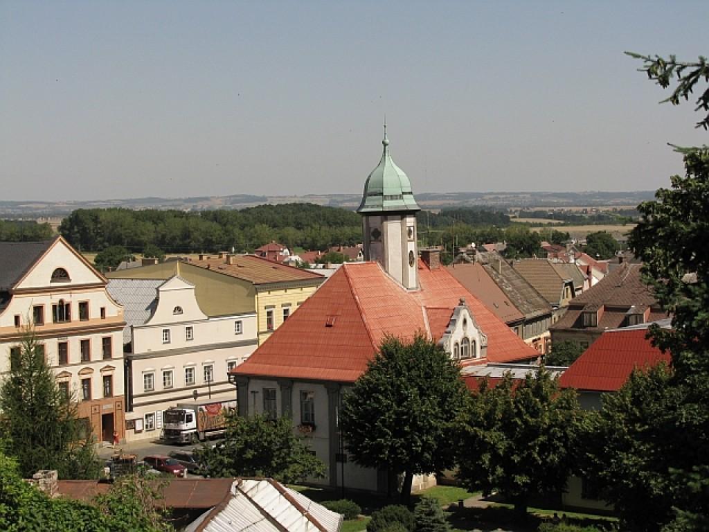 Zdjęcia: Javornik, północne Czechy, panorama miasta, CZECHY