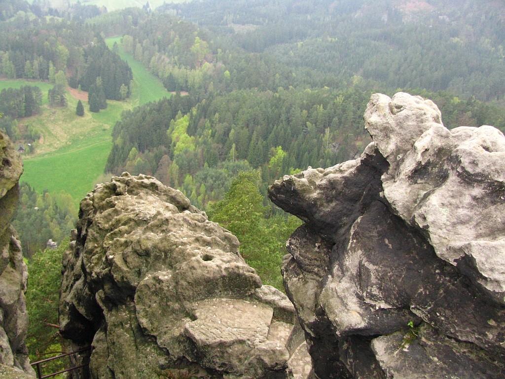 Zdjęcia: Hreńsko, Czeska Szwajcaria, skałki, CZECHY