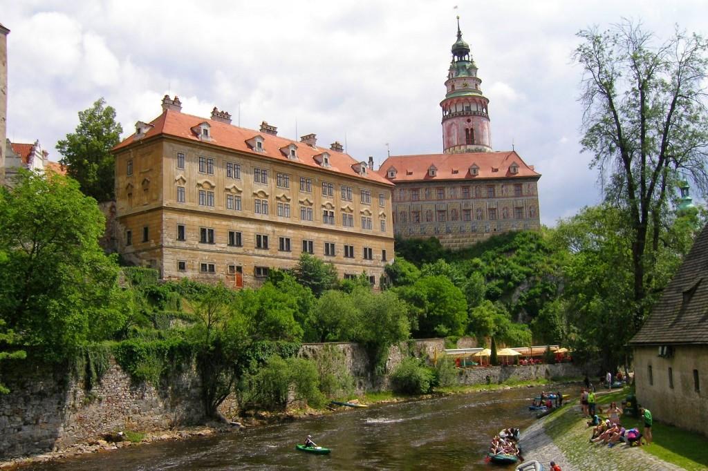Zdjęcia: Czeski Krumlov, Zamek, CZECHY