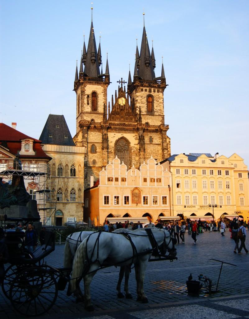 Zdjęcia: Praga, Praga, Kościół Tyński, CZECHY