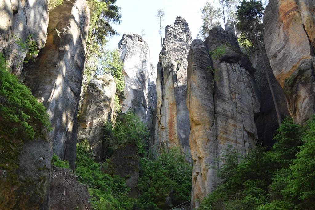 Zdjęcia: Adrspach, Sudety, Adrszpaskie skały, CZECHY