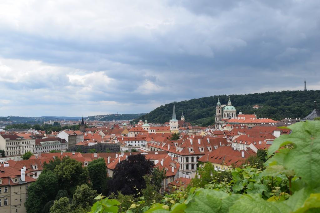 Zdjęcia: Praga, Praga, Dachy Pragi, CZECHY
