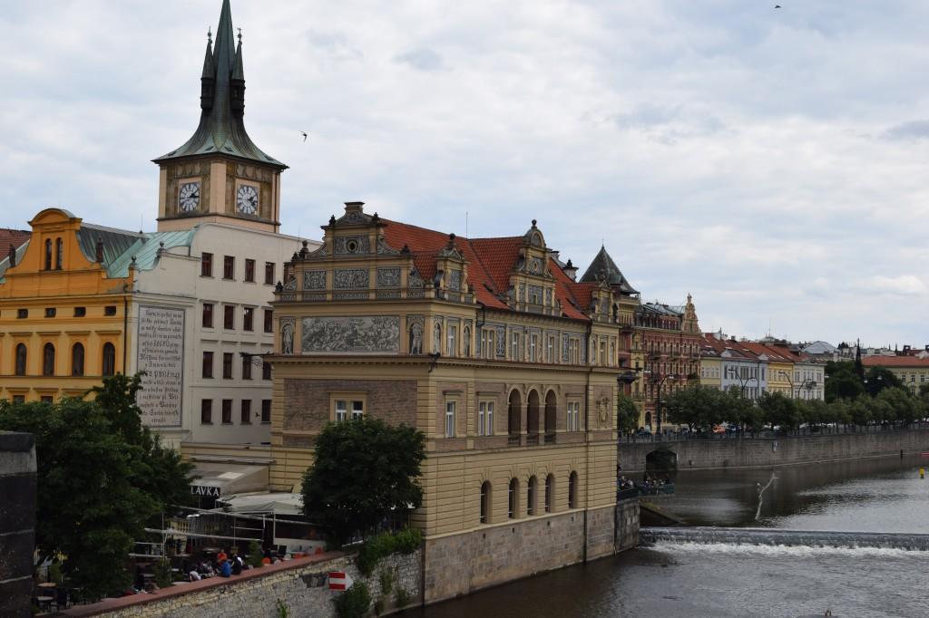 Zdjęcia: Praga, Praga, Widok na Wełtawę, CZECHY