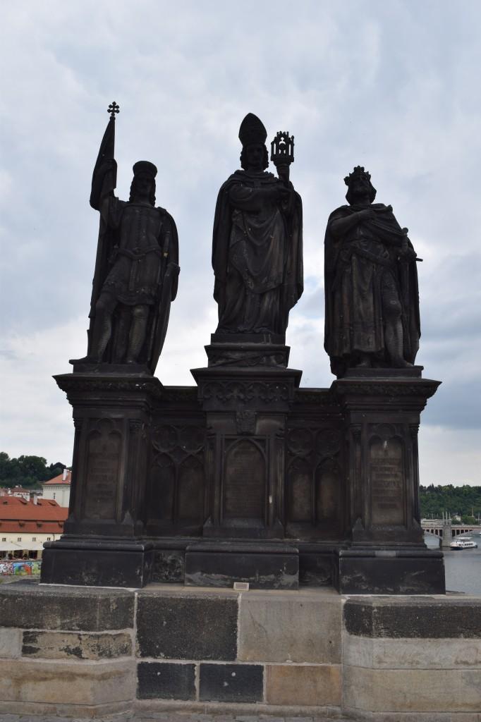 Zdjęcia: Praga, Praga, Na moście Karola , CZECHY