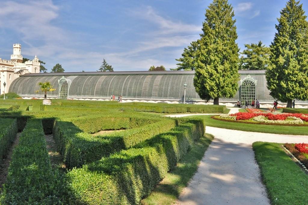 Zdjęcia: Lednice, Morawy, Lednice Pałac, Ogrody, CZECHY