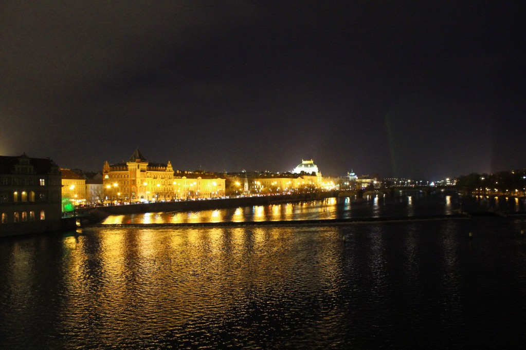 Zdjęcia: Most Karola, Praga, Praga nocą, CZECHY