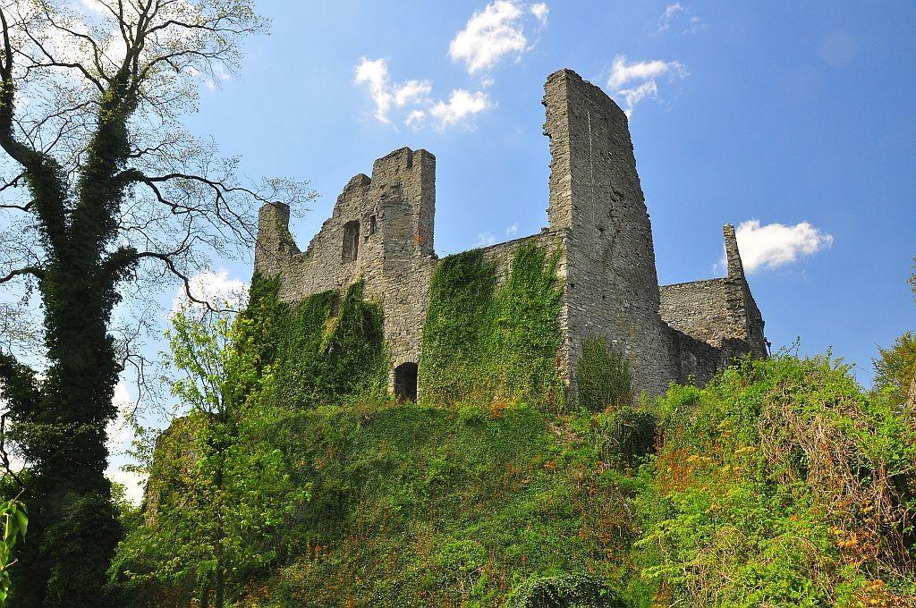 Zdjęcia: Hukvaldy, Morawy, Zamek, CZECHY