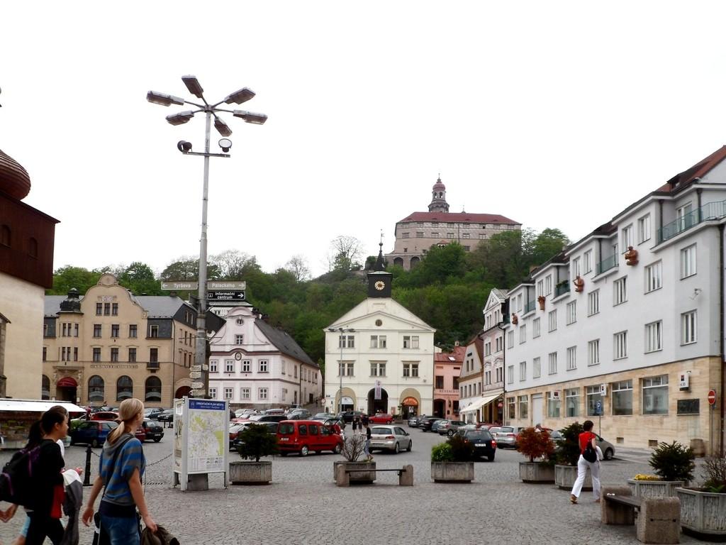 Zdjęcia: Nachod, Kraj Hradecki, Rynek w Nachodzie, CZECHY