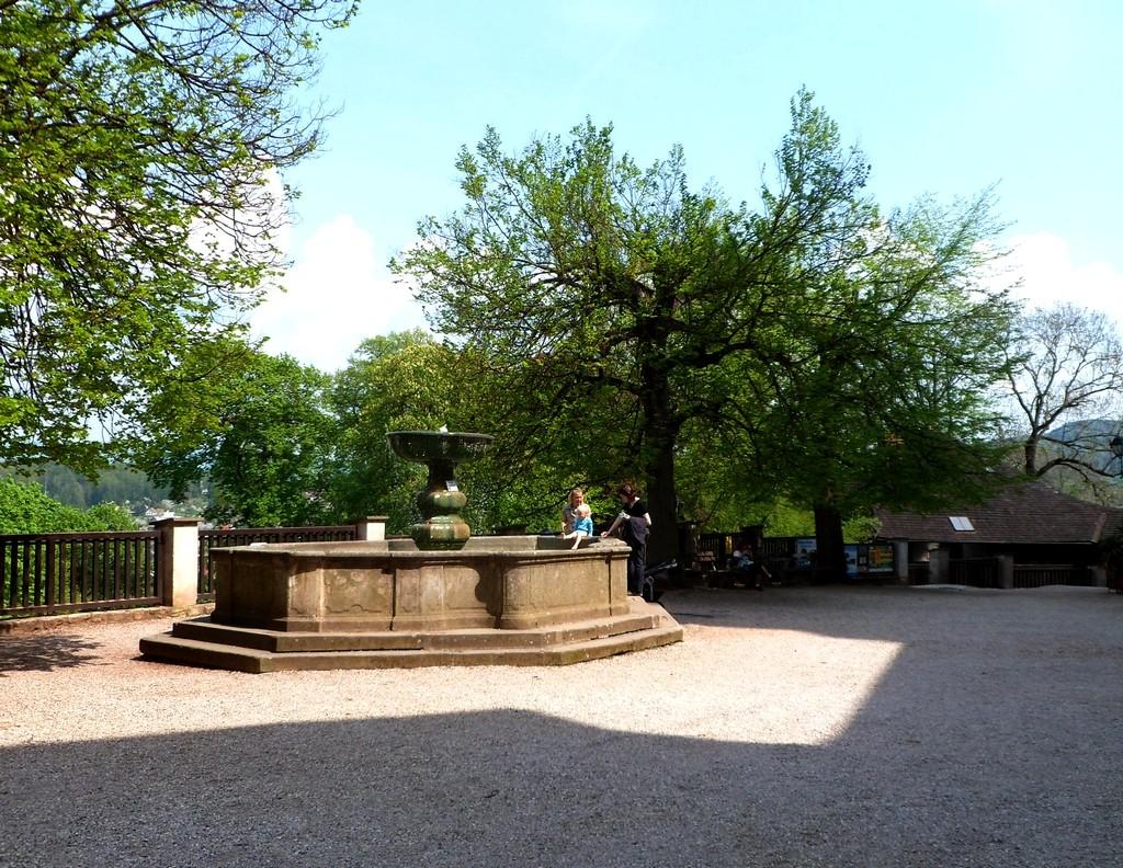 Zdjęcia: Nachod, Kraj Hradecki, Fontanna przyzamkowa, CZECHY