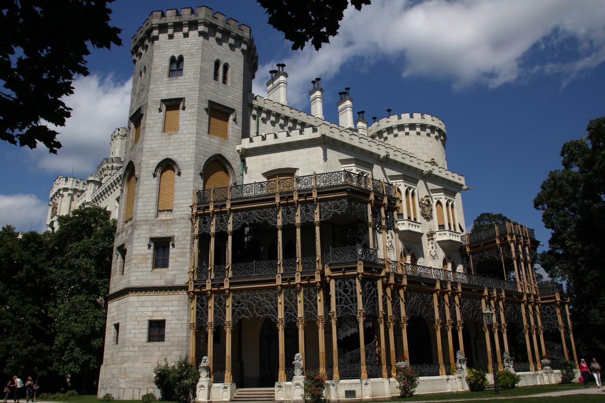 Zdjęcia: Hluboka nad Wełtawą, Południowe Czechy, Koronkowy pałac, CZECHY