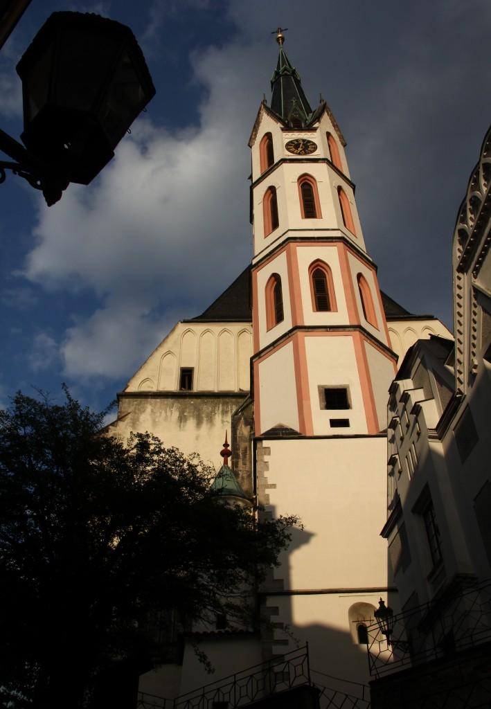 Zdjęcia: Czeski Krumlov, Południowe Czechy, Słoneczna wieża, CZECHY