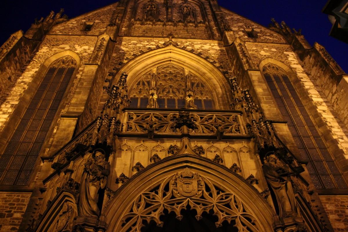 """Zdjęcia: Brno, Południowe Czechy, """"Złota"""" Katedra, CZECHY"""